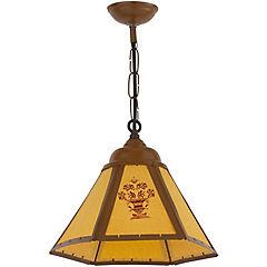 Lámpara colgante 33 cm 60 W