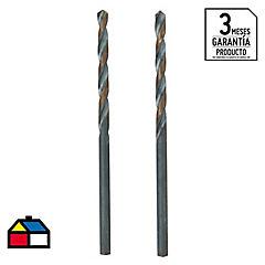 Broca para metal 2,5x57 mm