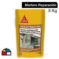 Saco 5 kg Sikalisto Repair Plus, mortero de reparación impermeable y expansivo