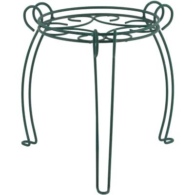 Portamacetero mesa de metal 37 cm Verde