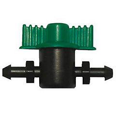 Set de miniválvulas para microjet plástico 3 unidades