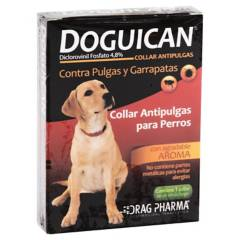 DRAG PHARMA - Collar antipulgas para perro 58 cm