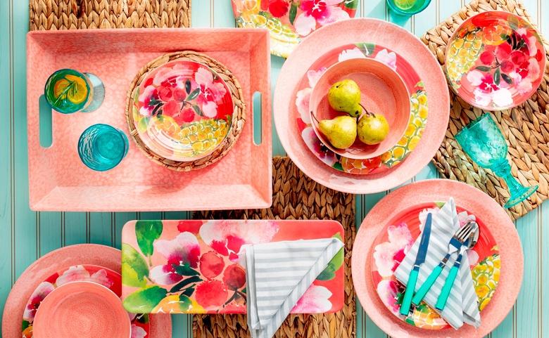 Ideas decorativas para comer en el jardín