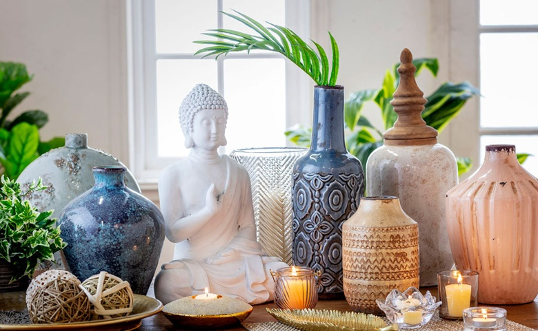 Date una pausa: crea un rincón de yoga o meditación en casa