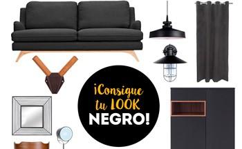 Negro en la decoración: de lo clásico a lo moderno