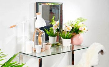 Full Glam: Decora con espejos