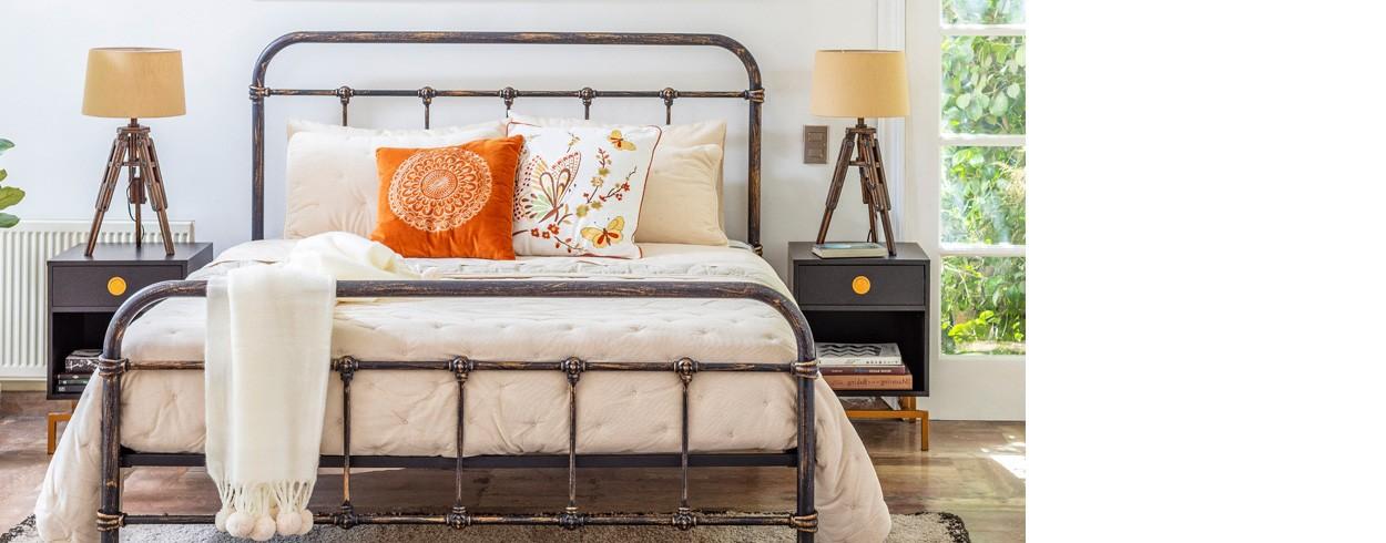 LookBook Dormitorios: Comodidad con estilo vintage