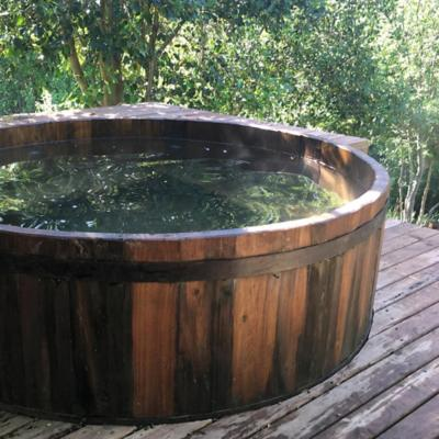 Spa de exterior y hot tubs