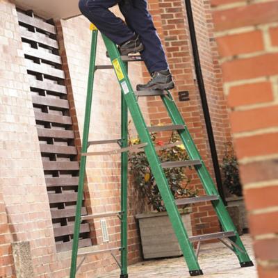 Escaleras para el electricista