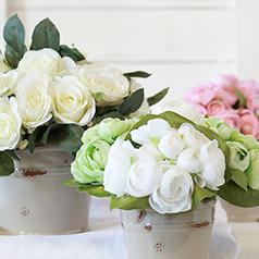 Plantas y Flores artificiales