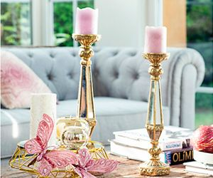 Velas y candelabros
