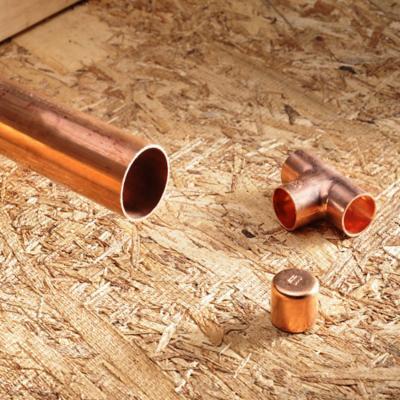 Cañerías de cobre tipo M y Fittings