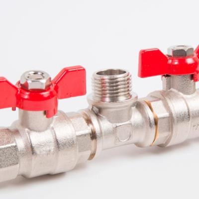 Llaves y válvulas de agua y gas