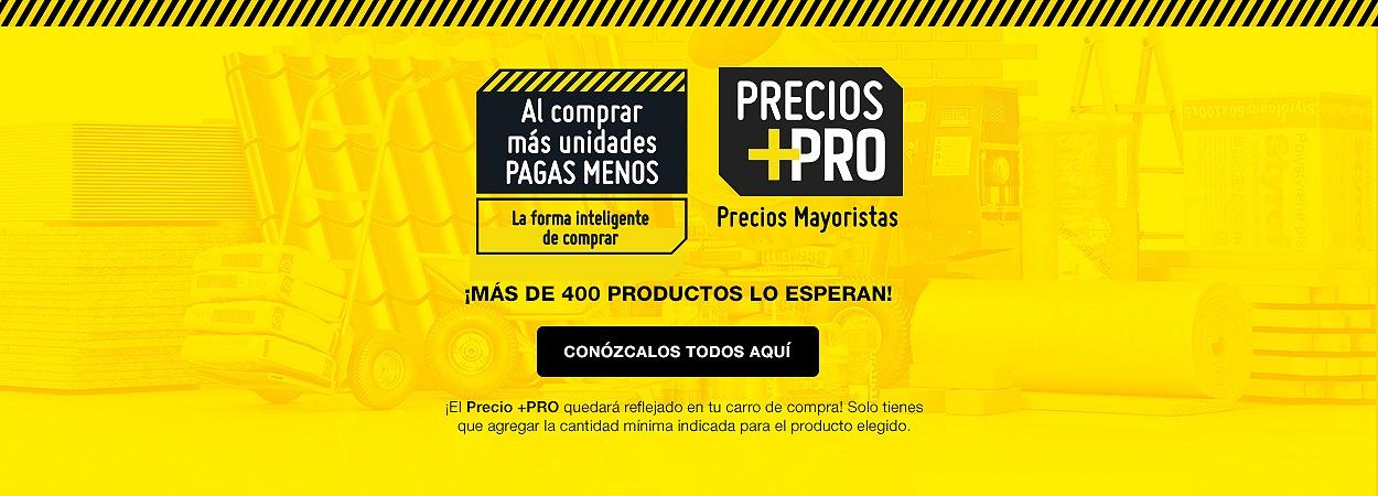 Precios +PRO
