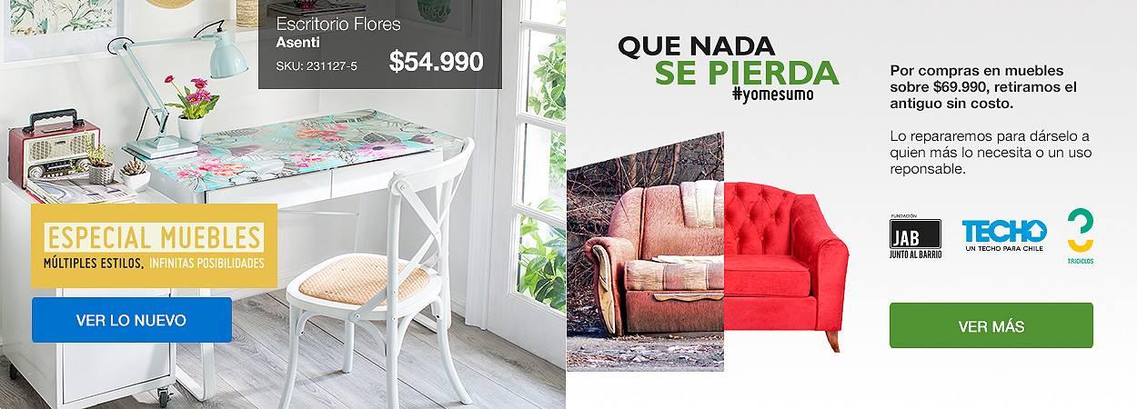 Especial muebles - Qué nada se pierda
