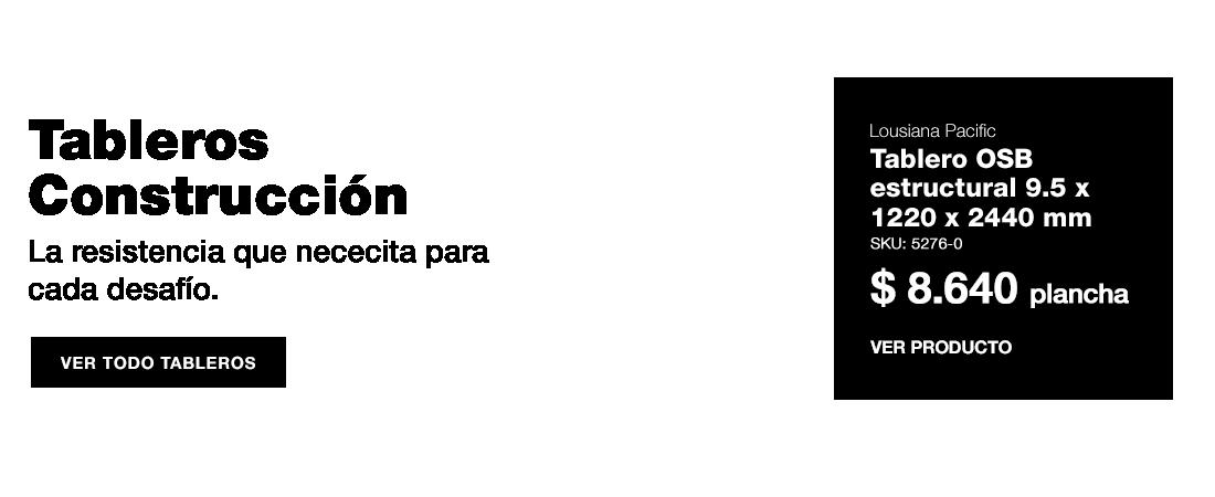Tableros OSB