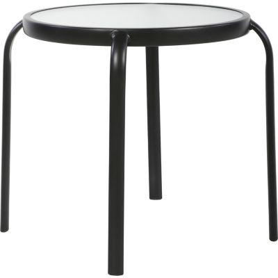 Mesa de apoyo metálica 45 cm gris
