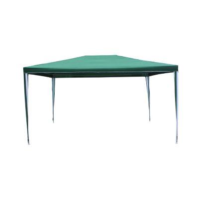 Toldo de poliéster 300x400x250 cm verde