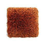 Cojín Shaggy Abundance naranja 43x43 cm