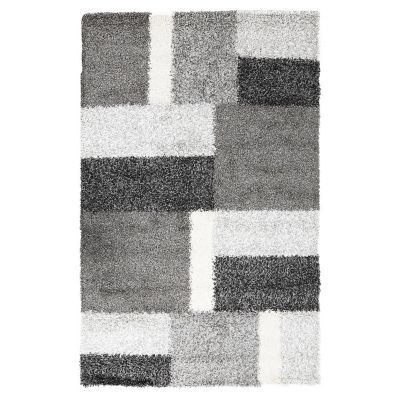 Tapete Shaggy Expo gris 160x230 cm
