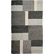 Tapete Shaggy Expo gris 120x170 cm