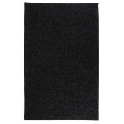 Tapete Shaggy Conrad negro 133x200 cm