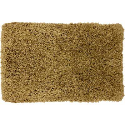 Tapete de baño peludo arena 50x80 cm