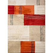 Tapete Umbria rojo/naranja 60x115 cm