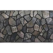 Tapete de entrada Piedra gris 45x75 cm