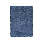 Tapete Shaggy Sprinkle turquesa 160x230 cm