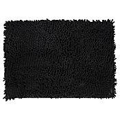 Tapete de baño Memorex negro 43x61 cm