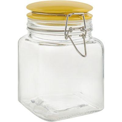 Frasco c/tapa 600 ml cerámica