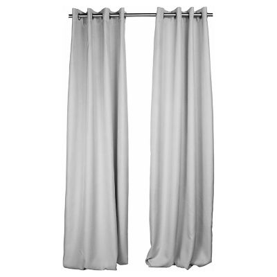 Set 2 cortinas Lucca natural 140x250cm.