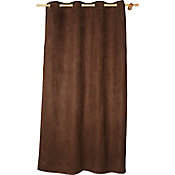 Cortina suede chocolate 140x220 cm
