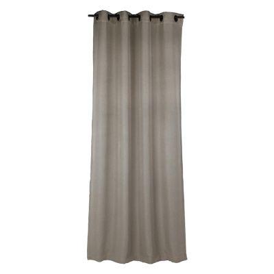 Cortina de 2 paneles Lucca gris 140x250 cm