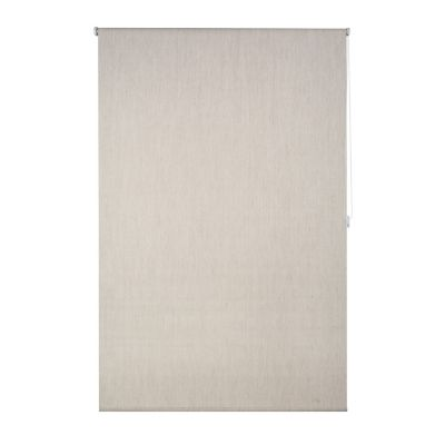 Persiana enrollable blackout beige 120x165 cm