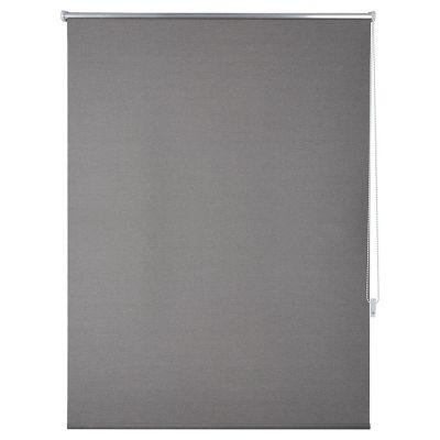 Persiana enrollable blackout gris 120x165 cm