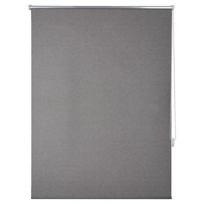 Persiana enrollable blackout gris 160x165 cm