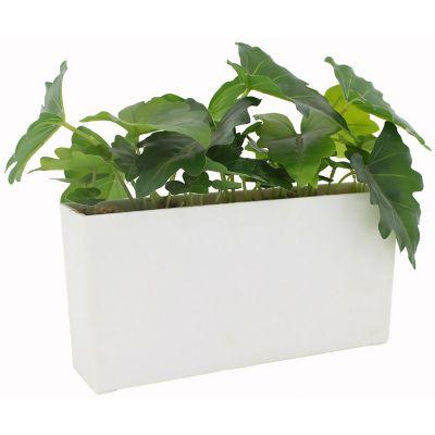 Caladium planta artificial 35 x 18 x 25 cm