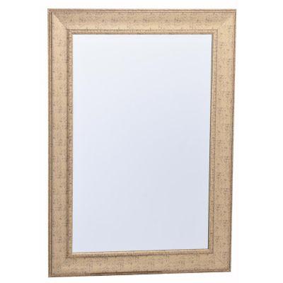 Espejo decorativo dorado 78x108 cm