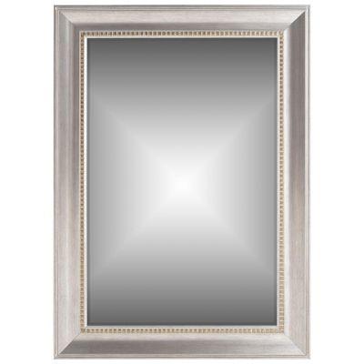 Espejo decorativo plata 78x108 cm