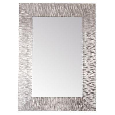 Espejo decorativo plata 50x70 cm