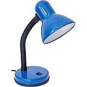 Lámpara Escritorio 40W Piccola azul E27 plástico 20cm