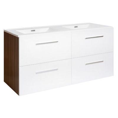 Mueble de baño Barcelos blanco brillante
