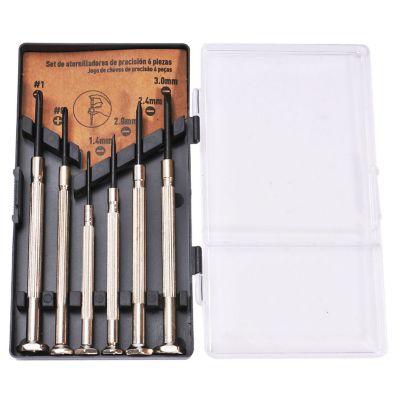 Set 6 piezas desarmador de precisión