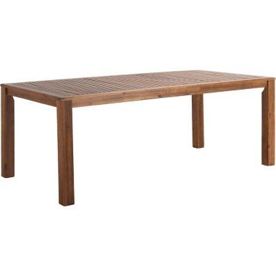 Mesa de acacia 200 x 100 x 75cm