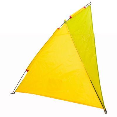 Paraviento playa amarillo y verde klimber