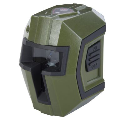Mini nivel cruz laser bauker
