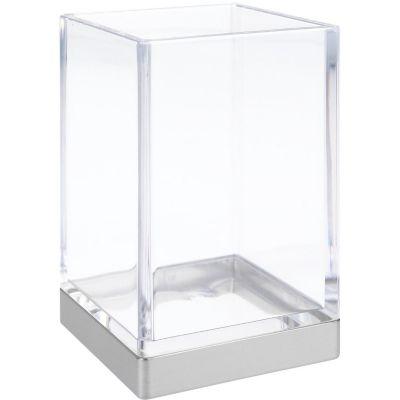 Vaso de baño Clarity acrílico cromo