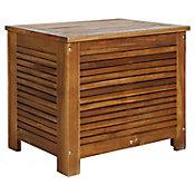 Hielera para terraza de madera acacia 42 x 57 x 50cm